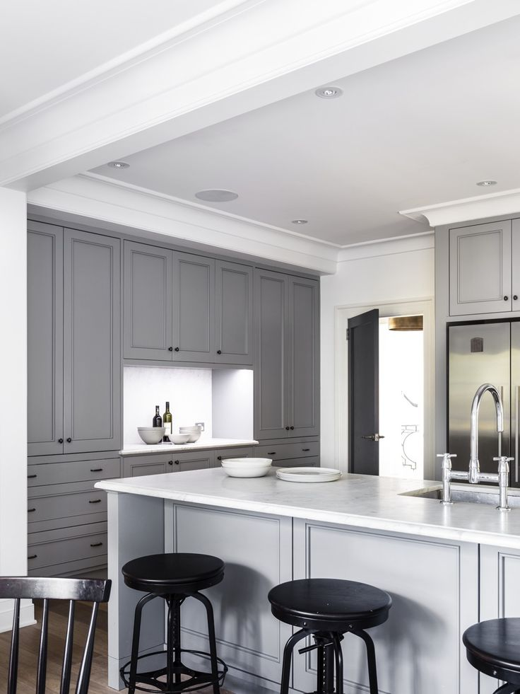 Kitchen by Michael Bell Architects and Thomas Hamel Interior Design. Justin Alexander Photography.