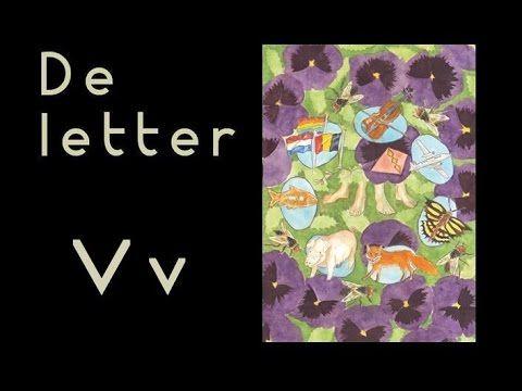 De letter V