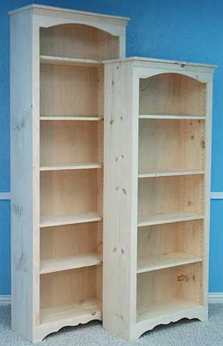 Best unfinished bookcases ideas on pinterest