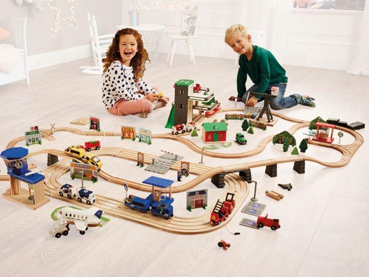Circuito de tren/ Autopista con accesorios