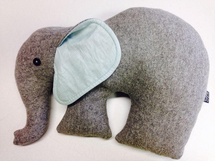 Elephant in sheep's clothing... Custom made Elephant #campaignforwool #wool #babytoys