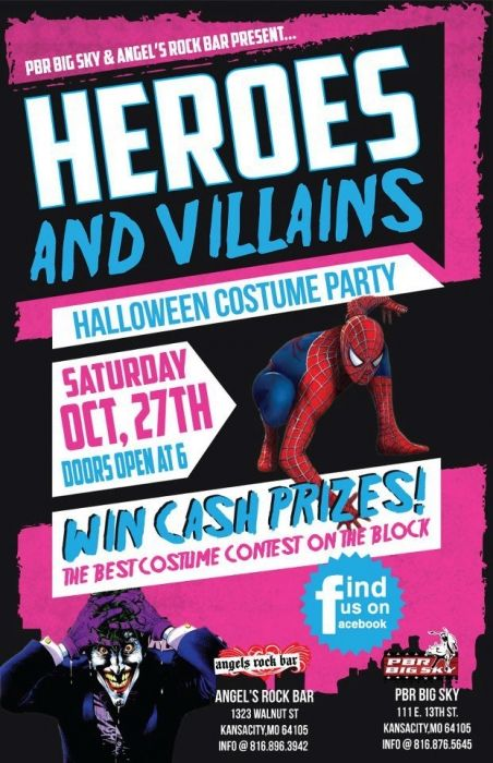 Super Heroes Amp Villains Halloween Party Superhero Vs
