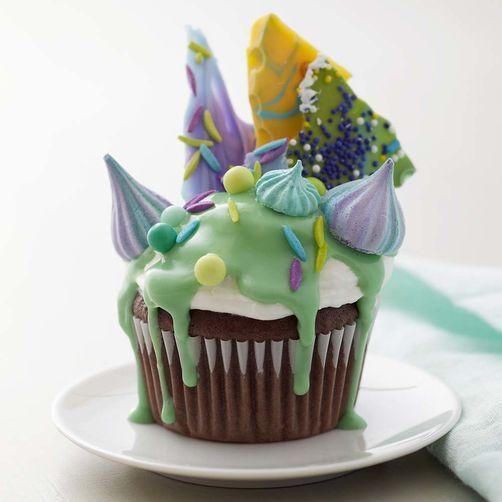 Peaked in Elegance Cupcake