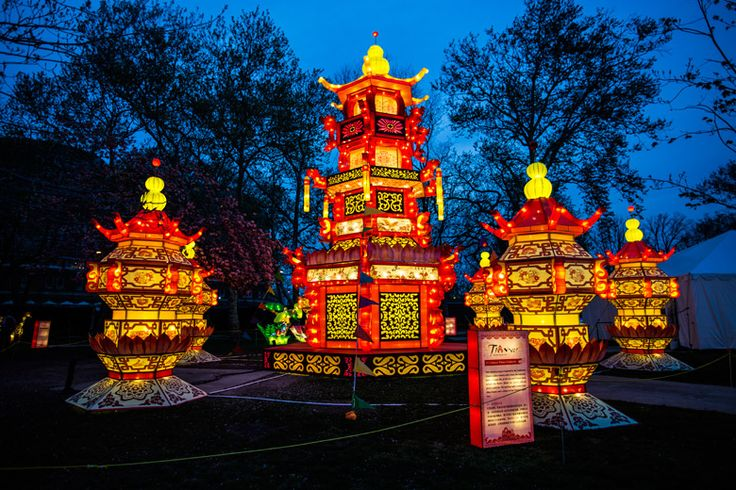 The Chinese Lantern Festival returns with all-new silk lanterns from May 9 to June 11.