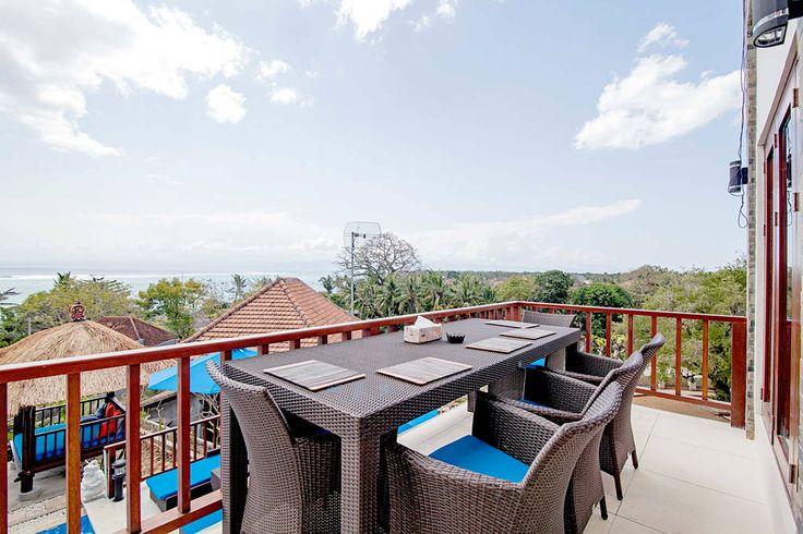 Villa Keluarga   4 bedrooms   Nusa Lembongan, Bali #alfresco #dining #villa #bali #nusalembongan #ocean #view