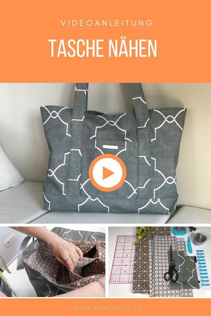 Eine neue Videoanleitung für eine hübsche Tasche…