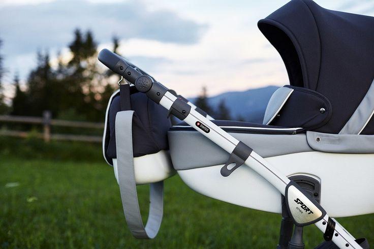 Stroller that bring comfort and safety! New model - Anex Sport gray eco-leather/gtay jacquard (collection 2016) #anex #anexbaby #anexsport #KOČÁREK #KINDERWAGEN #PODRA #DETSKÝKOČÍK #КОЛЯСКА #WÓZEK,