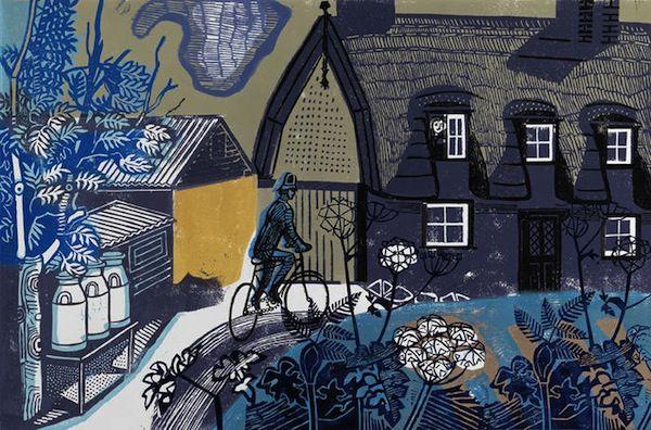 urban garden - Edward Bawden.