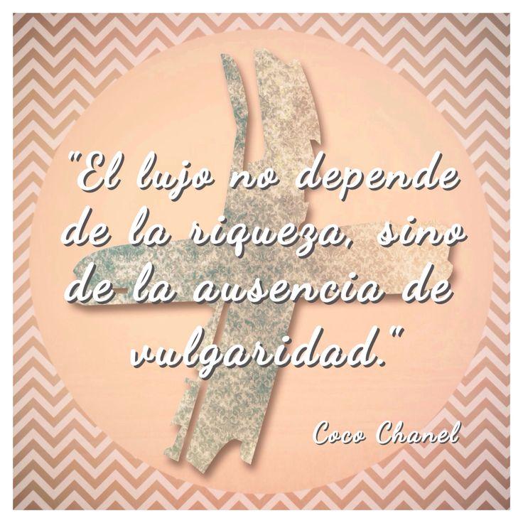 True!! Coco Chanel