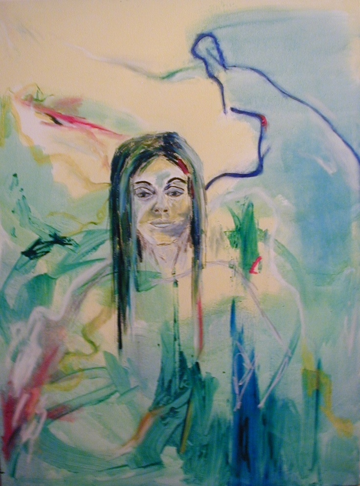 Julie Proudfoot- Oil on Canvas - 30x45inches 'Julie'