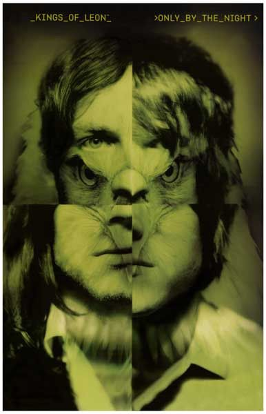 Kings of Leon Only by the Night EagleMan Music Poster 11x17 – BananaRoad