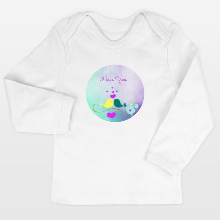 Shop for unique nursery art like the Lovely Birds Infant Long-Sleeve T-Shirts by haroulita on BoomBoomPrints today!  Customize colors, style and design to make the artwork in your baby's room their own!