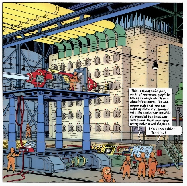 Tintin Destination Moon launch pad • Tintin, Herge j'aime