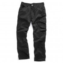 Scruffs Worker Trousers With Repeltex Black