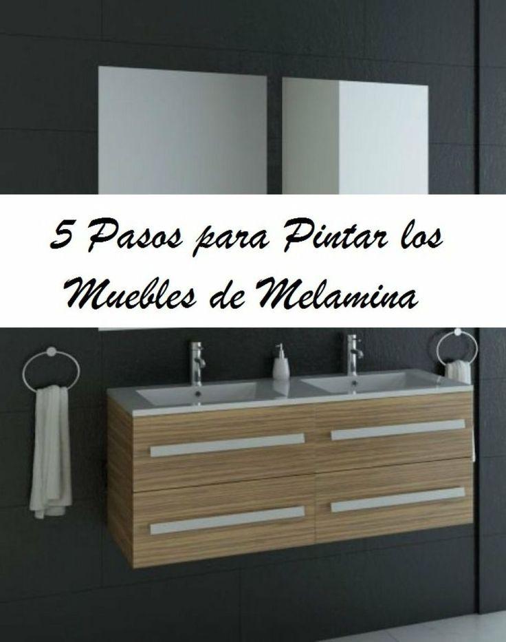5 pasos para pintar muebles de melamina