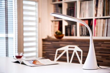Barry Perrin - Swan lamp