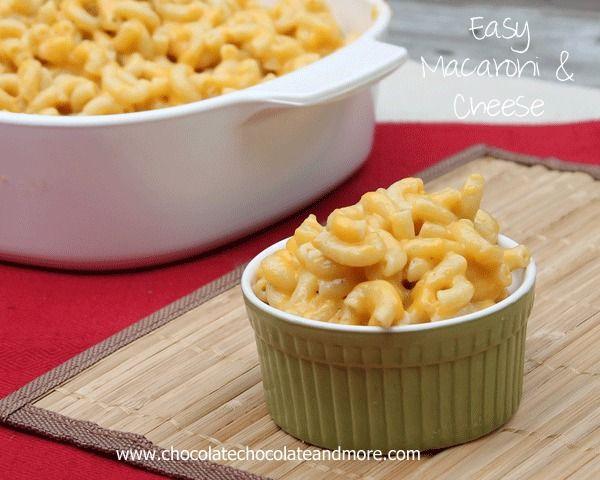 Easy Macaroni and Cheese   – Recipes