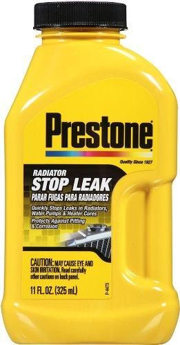 Prestone AS145Y Radiator Cooling System Stop Leak, 11 Oz