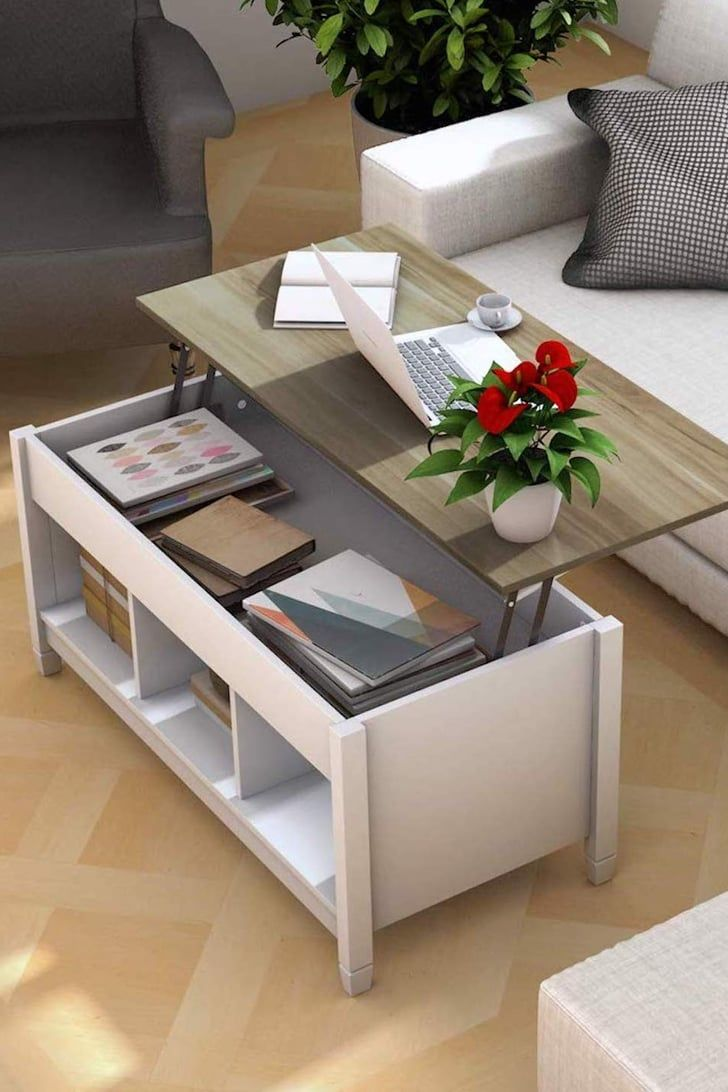 This Space Saving Coffee Table On Amazon Is Only 150 So No