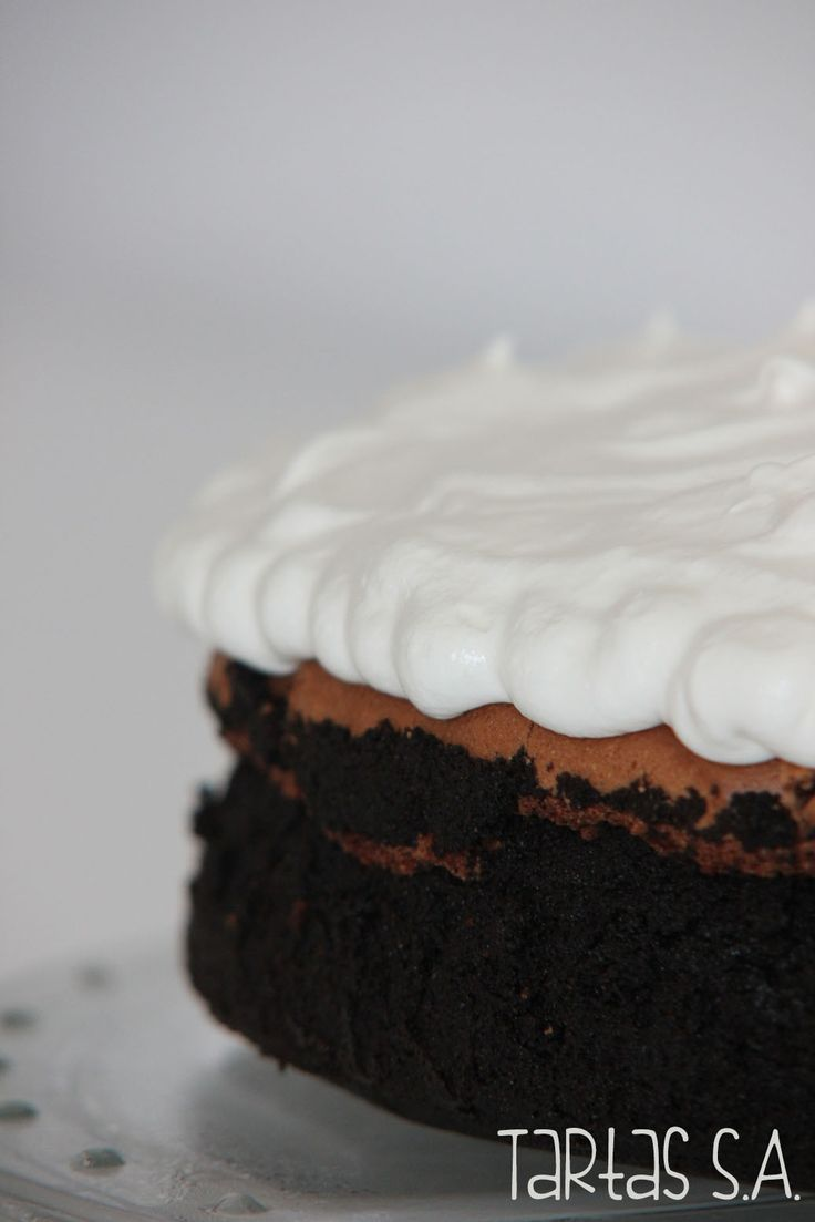 Tarta de chocolate y nata - Mississippi Mud cake