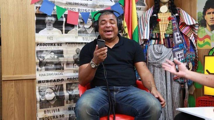 Ae mulekada! 22 horas tem Desimpedidos no FOX Sports Brasil! Vampeta é o convidado de hoje! Assiste lá! É nois!