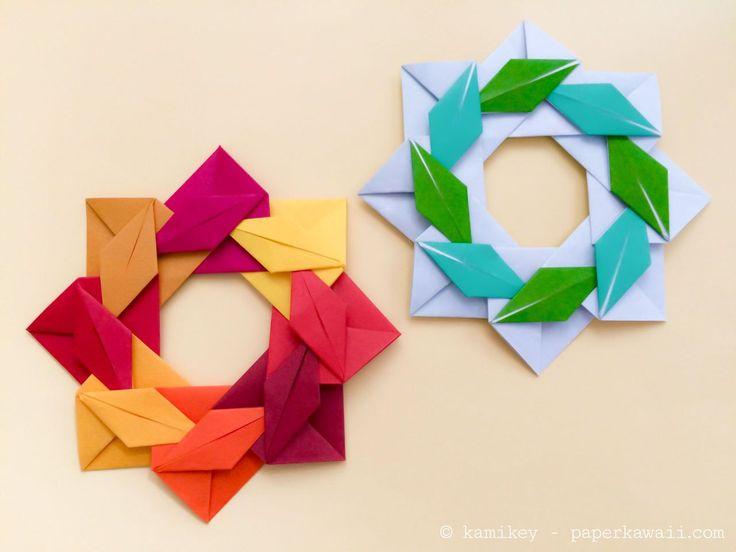 4 Cute Halloween Origami Models! #origami #halloween #paperkawaii