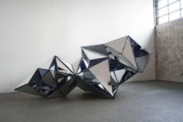 "Saatchi Art Artist Isabelle Tellié; Reflective Sculpture, ""Meteoroid"" #art"