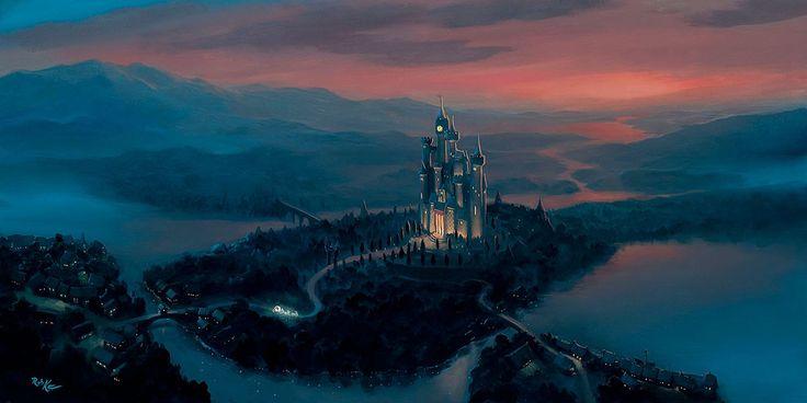 Cinderella - A Dream Come True - Rob Kaz - World-Wide-Art.com - #disneyfineart #robkaz #cinderella
