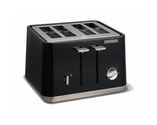 Aspect Toaster (Black) http://www.morphyrichards.co.za/products/aspect-4-slice-1800w-black-toaster-240002