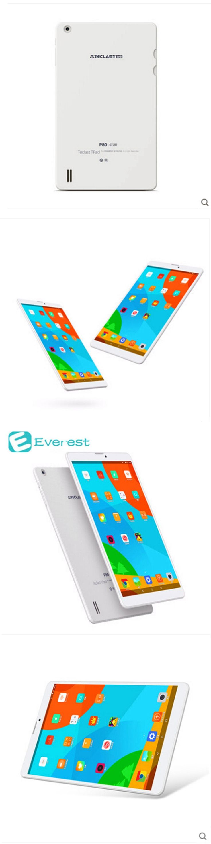 Teclast P80 4G Tablets MTK8735 Android 5.1 Quad Core Tablet PC Dual Wifi 2.4G/5G Bluetooth laptop GPS 8 inch tablet android