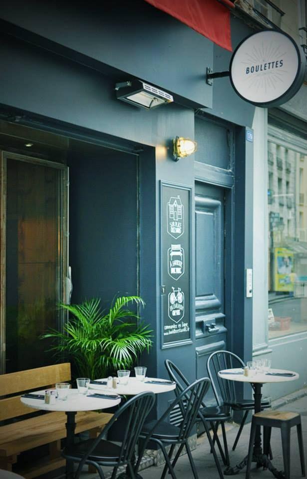 Restaurant Boulettes Rue Saint Denis Paris 75002 By The Blind Taste