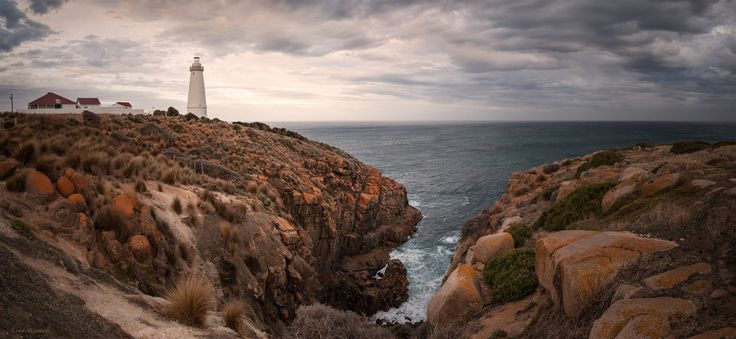 Cape Willoughby Lighthouse on Kangaroo Island, by Leah Kennedy