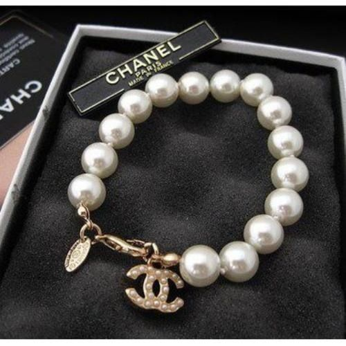 Chanel and pearls.