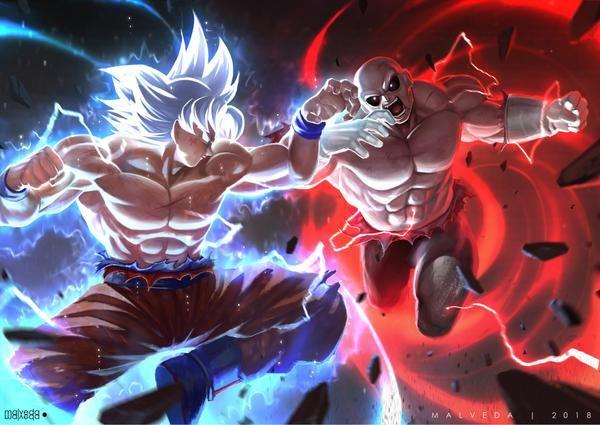 Goku Vs Jiren By Https Www Deviantart Com Alex Malveda On Deviantart Dragon Ball Super Artwork Anime Dragon Ball Super Goku Vs Jiren