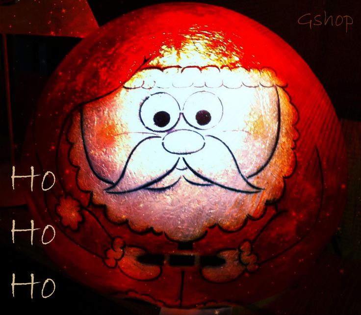 Ho ho ho🎅 Our Gshop Xmas fiberglass ball <3  Click here for the santa: http://gshopspot.gr/product.php?product_id=503