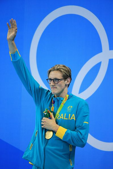 #RIO2016 - Best of Day 1 - Mack Horton of Australia wins Gold in the Men's 400m Freestyle Final on Day 1 of the Rio 2016 Olympic Games at the Olympic Aquatics Stadium on August...