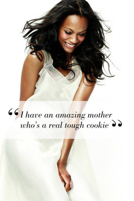 Zoe Saldana speaks out about her mother: Elle Celebrities, Mothers Day, Mothers Beauty, Happy Mothers, Zoe Saldana Quotes, Motherhood Quotes, Elle Magazine, Mom Quotes, Elle Celebrity