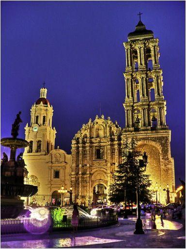 Catedral de Saltillo, Coahuila. México www.sitiosdemexico.com - Directorio de Turismo y Entretenimiento