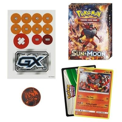 2019 Pokemon Trading Card Game Sun & Moon S1 Theme Deck featuring Incineroar