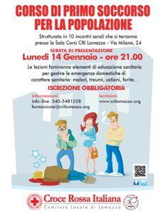 Corsi a Lomazzo (CO) - #primosoccorso