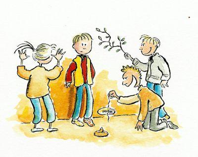 Het belangrijk dat kinderen de verschillende vormen van pesten kennen. Soms zijn ze aan het pesten zonder dat ze het beseffen.
