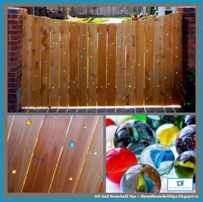 DIY And Household Tips: DIY Marble Fence