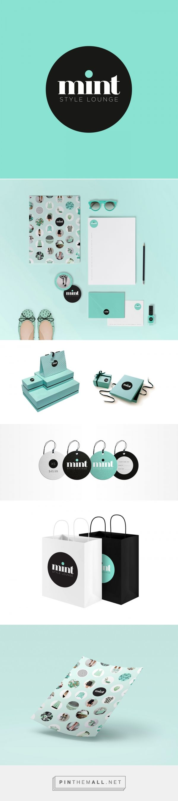 Mint Fashion Branding by Carmen Virginia Grisolía