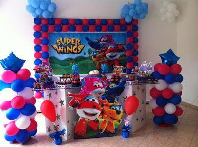 Festa Super Wings - Dicas e Inspirações   Diário das Mamães