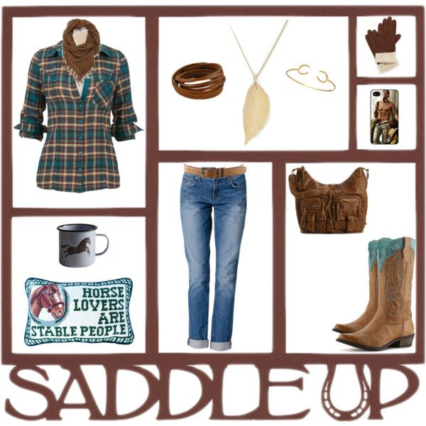 """Saddle up"" by vivicica on Polyvore"