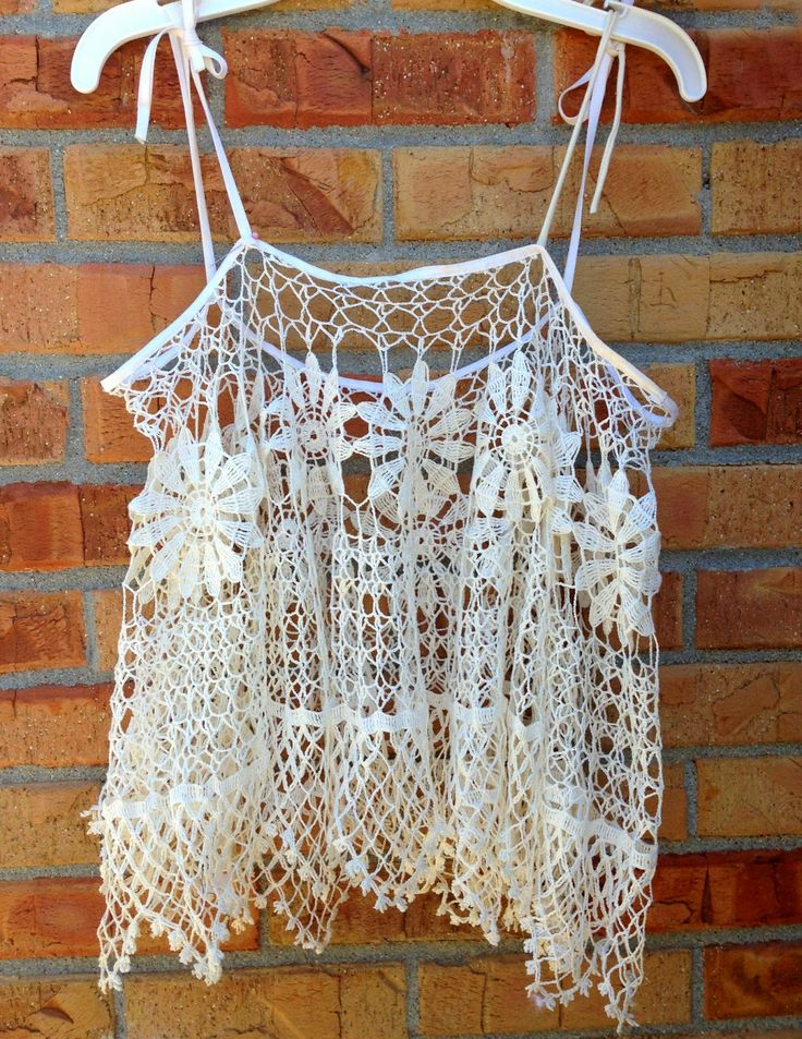 Trash To Couture: DIY versatile doily top