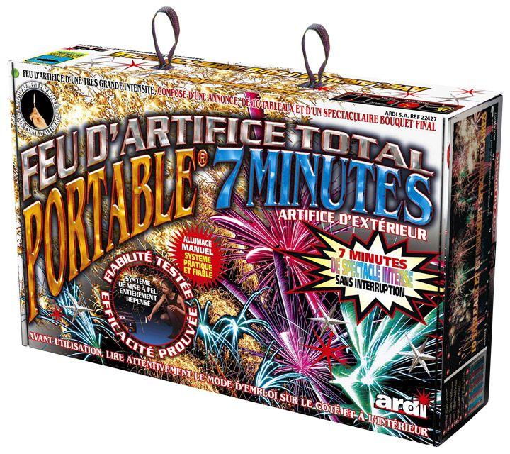 Pour que votre mariage soit inoubliable, comblez d'éblouissement vos invités grâce à ce set de feux d'artifice : Feu automatique Ardi 7 minutes