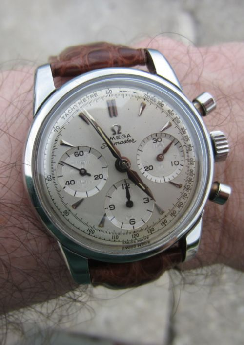 Vintage Omega Seamaster Chronograph In Stainless Steel