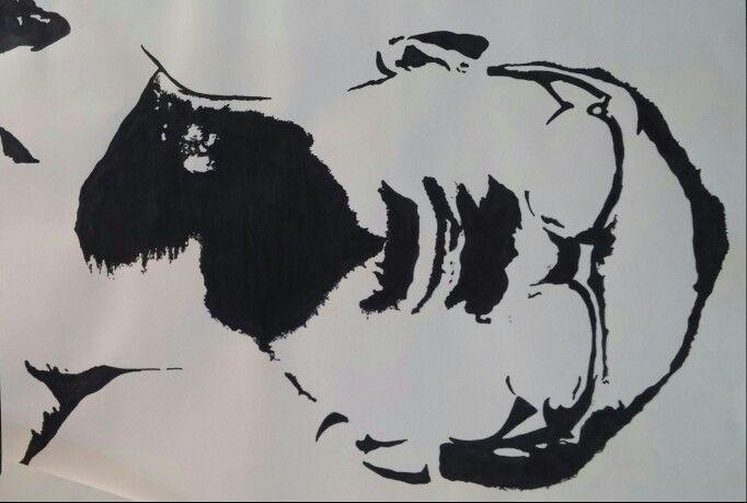 Lumumba a #NoneunContinenteNero 50x70