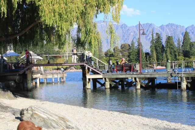 Queenstown New Zealand Work does not stop